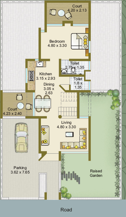 Bhk Bungalow Plan Vastu Shastra Posot Homes Picture Picture